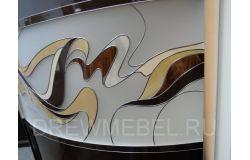 Фасады радиусных шкафов-купе
