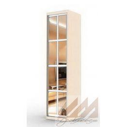 Колонка с распашной зеркальной дверью-прованс  (400-600)