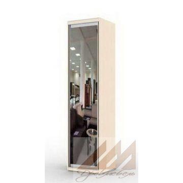 Распашная колонка с зеркалом (400-600)