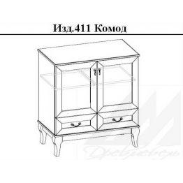 Комод 411 Корвет МК 63
