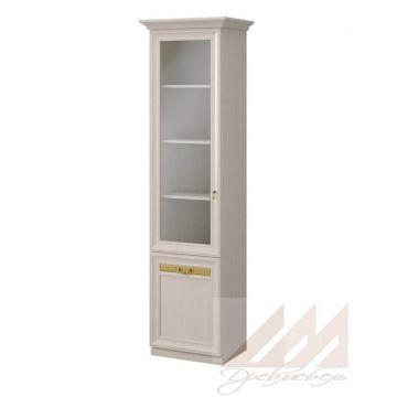 Шкаф витрина узкий №316 Корвет МК 58