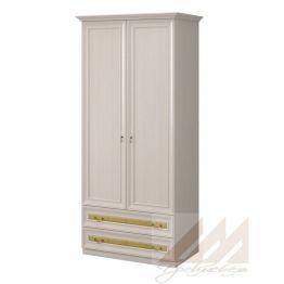 Шкаф 2-х дверный для одежды №317 Корвет МК 58