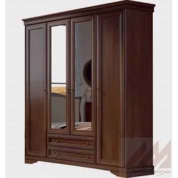 Шкаф  4х-дверный №367 Корвет МК 60