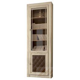 Шкаф-витрина для книг №204М Корвет МК 51