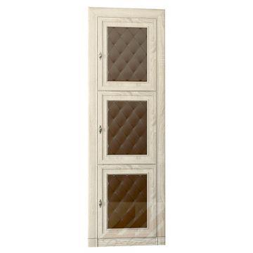 Шкаф-витрина для книг №205м Корвет МК 51