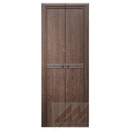 Шкаф 2-х дверный №188 Корвет 24 старый дуб