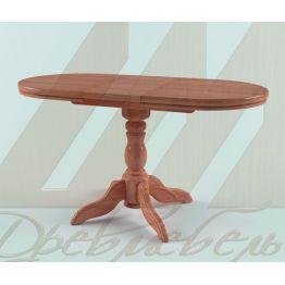 Стол овальный из массива дерева 1A