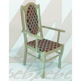 Кресло  9 из массива березы