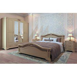 Кровать Верона (сосна, береза, бук, дуб)