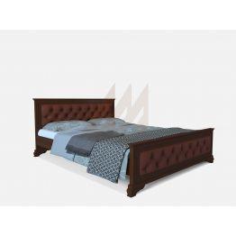 Кровать Винченцо с вставкой (сосна, береза, бук, дуб)