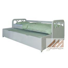 Детская кровать с выдвижным спальным местом