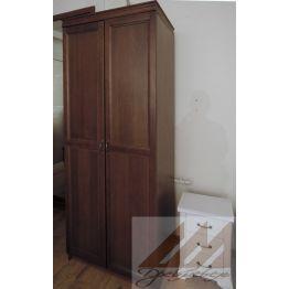Шкаф для одежды, шпон дуба