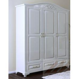 Шкаф трехстворчатый №3 из массива дерева, для одежды