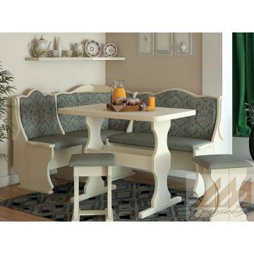Кухонный уголок Hoвый из массива бука, дуба, березы или сосны