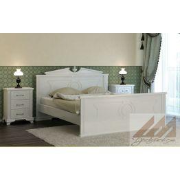 Кровать Афина (сосна, береза, бук, дуб)