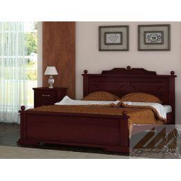 Кровать Афродита (массив сосны, березы, бука, дуба)