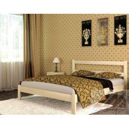 Кровать Дачная (сосна, береза, бук, дуб)
