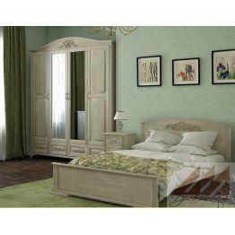 Кровать Диана (сосна, береза, бук, дуб)