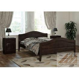Кровать Филенка2 (сосна, береза, бук, дуб)