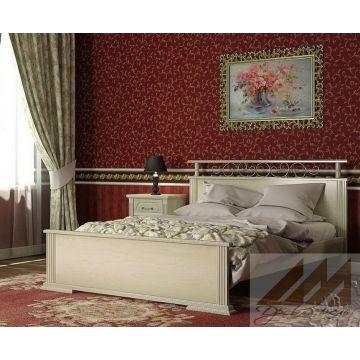 Кровать Ирида (сосна, береза, бук, дуб)
