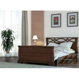Кровать Крокус (сосна, береза, бук, дуб)