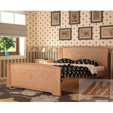 Кровать Магнолия (сосна, береза, бук, дуб)