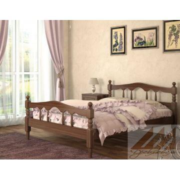 Кровать Точеная (сосна, береза, бук, дуб)