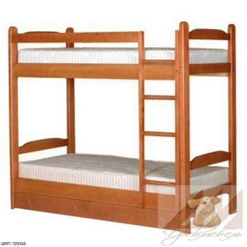 Детская двухъярусная кровать Антошка