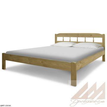 Кровать из сосны Бюджетная 2