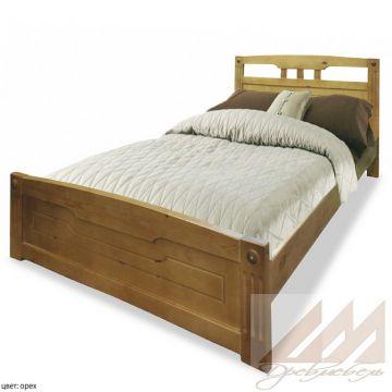 Кровать из сосны Флирт1