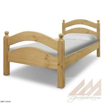 Кровать из сосны Милана