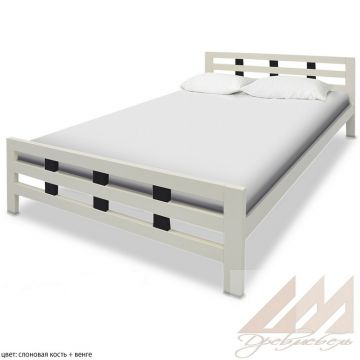 Кровать из сосны Оливия2