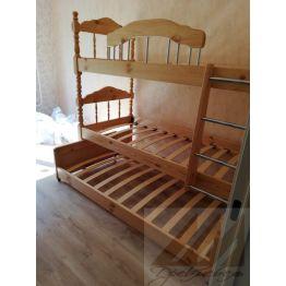 Двухъярусная кровать Альбион (3 спальных места)