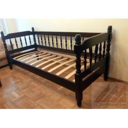 Детская кровать с 3 бортиками Смайл