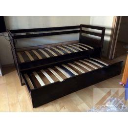 Детская кровать с дополнительным местом Дуэт