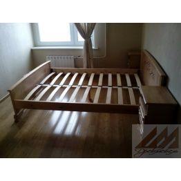 Кровать из сосны Варкара