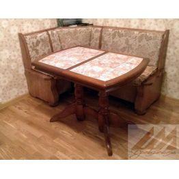 Стол обеденный с керамической плиткой - Грэкс 1
