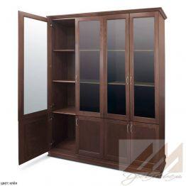 Книжный шкаф из массива дерева - 160