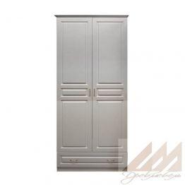 Шкаф для одежды 2х-створчатый из массива
