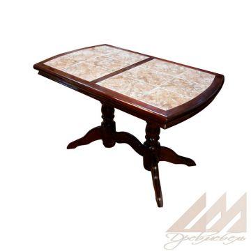 Стол обеденный с керамической плиткой - Грэкс 2
