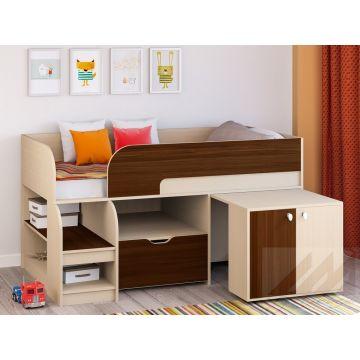 Кровать чердак Астра 9 (1600 - вариант 9)