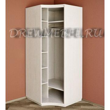 Радиусный шкаф вогнутый распашной