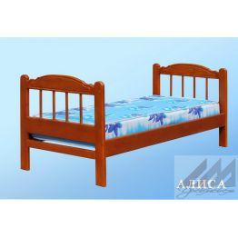Кровать Алиса (сосна)