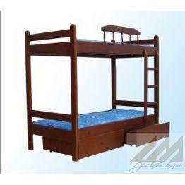 Кровать Буратино 2-х ярусная