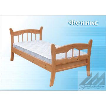 Кровать Феникс из сосны