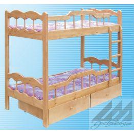 Кровать Фортуна двухъярусная