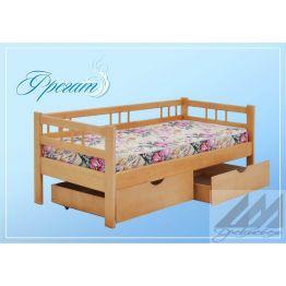 Детская кровать из сосны Фрегат