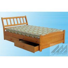 Кровать Катюша (сосна)