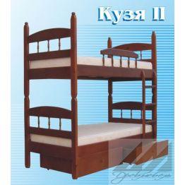 Кровать Кузя-2 разборная двухъярусная (от 160)