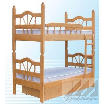 Кровать Луч двухъярусная (от 160)
